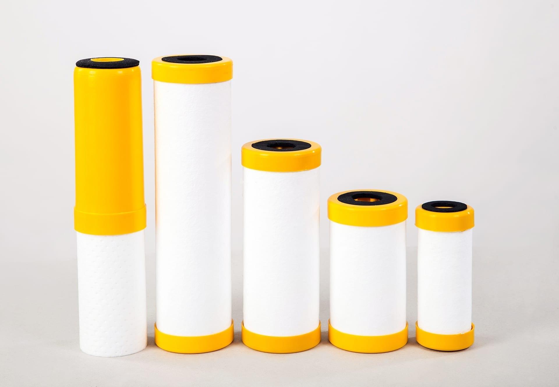 Kombinētie ūdens filtri  10 MK PL ''DZELTENS''