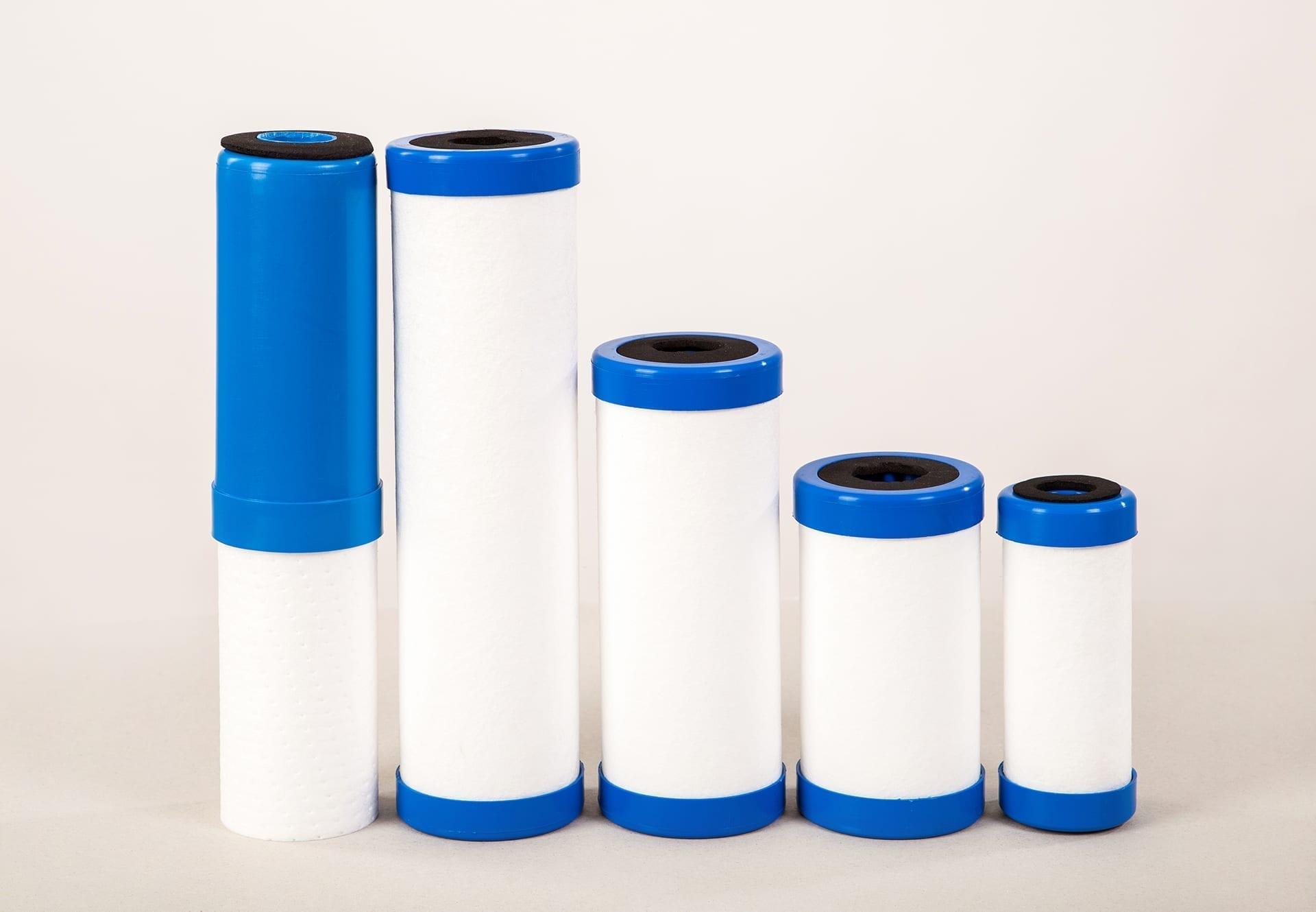 Kombinētie ūdens filtri 10 MK CA ''ZILS''