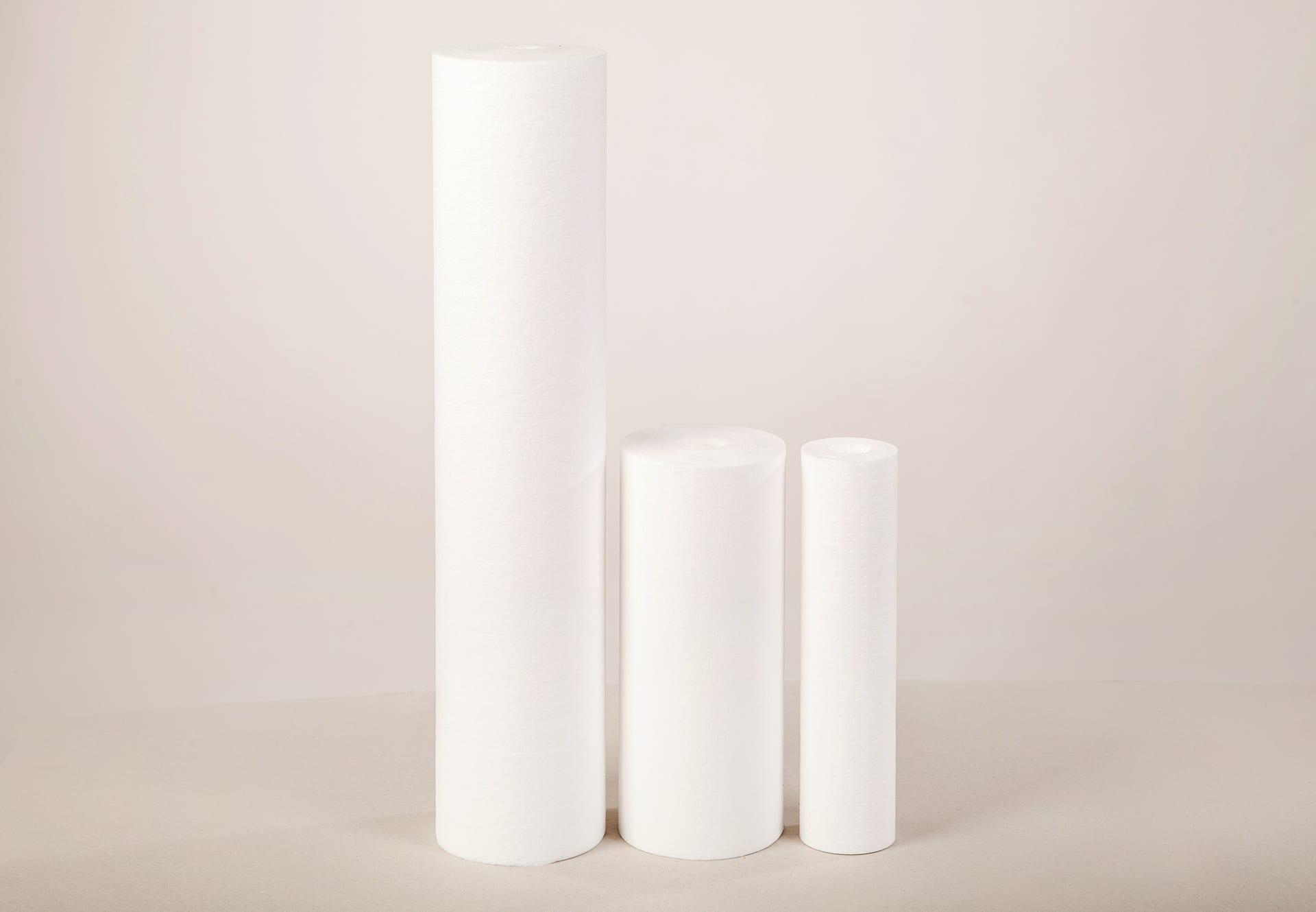 mehāniskais ūdens filts balts